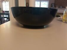 "11"" Large Salad Serving Bowl Espana Navy Blue Hand Painted Tabletops Unlimited"