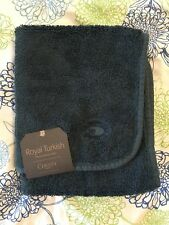 New! Christy Of England Royal Turkish Hand Towel Or Guest Towel. Indian Ink Blue