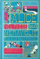 Alice nel paese delle meraviglie illustrato da Minalima Ippocampo vecchia Stampa