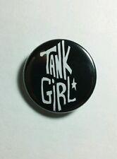 "TANK GIRL LORI PETTY NAME BLACK B&W STAR MOVIE 1.25"" PINBACK BUTTON PIN NEW"