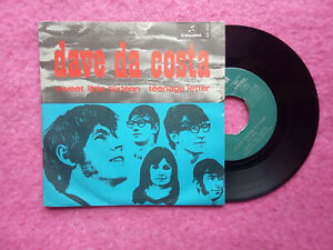 "7"" DAVE DA COSTA - Sweet little sixteen / Teenage letter ME 450 SPAIN (EX-/NM)"
