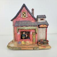 The Fruit Peddler Ceramic Christmas Village House Store Building
