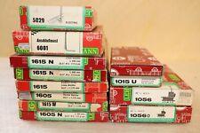 12x LGB 1615N, 1015U, 1056, 5029, 6001 Leerkarton (Ohne Inhalt)