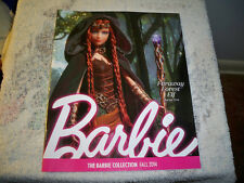The Barbie Collector Collection Catalog FALL  2014 FARAWAY FOREST ELF Cover