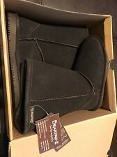 BEARPAW Emma TALL YOUTH Size 13 618 Chocolate Boots Brand New