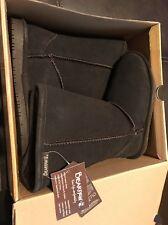 BEARPAW Emma TALL YOUTH Size 2 618 Chocolate Boots Brand New