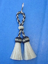 Western Cowgirl Decor Double Tassel Horsehair Zipper Pull MADE IN THE USA