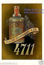 Parfum 4711 XL Reklame Weihnachten 1943 !!!  Kölnisch Wasser Werbung ad Parfüm +