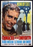 M220 Manifesto 4F Cronache Di Un Convent Schell,Montalban,Padovani,Dmytryk