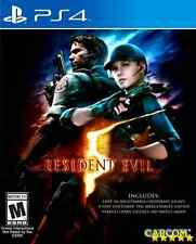 Resident Evil 5 - PlayStation 4 Standard Edition Kids Toy Game