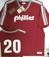MIKE SCHMIDT PHILADELPHIA PHILLIES Mitchell & Ness Throwback Jersey Shirt