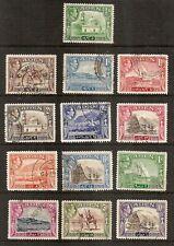 Aden - 1939 KG VI Definitives - Complete Set - Postally Used