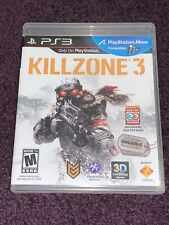 Sony PS3 Complete KILLZONE 3 (2011) Playstation 3 GAME FAST FREE SHIPPING