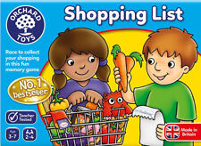 Orchard Toys Shopping List Educational Childrens Toy Kids Game
