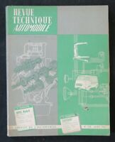 REVUE TECHNIQUE AUTOMOBILE RTA OPEL KADETT & CITROEN 2cv    n°228 1965