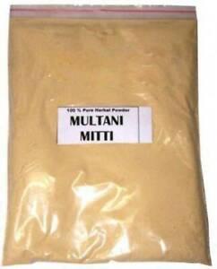 100% Organic Pure Multani Mitti Powder 200 grm ( Free Shipping wwide )