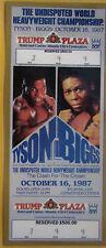 * Boxing Tickets Repo 1960's & 1980's Tyson Liston Foreman Duran Holmes Biggs  *