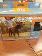 Kurgo Tru-Fit No Pull Dog Harness, Sz. Large, Black, Car Restraint