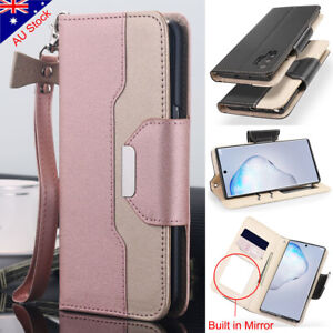 Samsung Galaxy S20+ Ultra S10+ Note 10+ Magnetic Leather Wallet Case Stand Cover