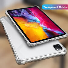 For iPad Pro 11 2020 Shockproof Soft Silicone Rubber Protective Clear Case Cover