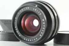[Near MINT w /Hood] LEICA LEITZ ELMARIT-R WETZLAR 28mm f/2.8 MF Lens 3Cam Japan