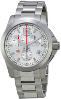 Brand New Authentic Longines Conquest Silver Dial Men's Watch L37004766