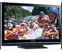 """Panasonic Viera 50"""" HD Plasma TV $100"""