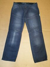MENS G-STAR RAW 96 ELWOOD 5620 GREY STRAIGHT LEG DENIM JEANS W33 L29