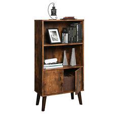 VASAGLE Bücherregal Bücherschrank Standregal mit 2 Ablagen Lagerregal Raumteiler