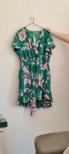 Toni Green floral dress size 16