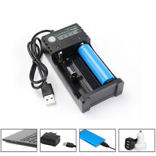 USB Battery Charger for 3.7V 18650 14500 16340 26650 Batteries Without battery