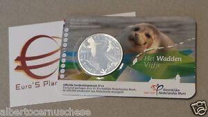 5 euro 2016 Paesi Bassi pays bas Olanda Niederlande netherlands het Wadden leone