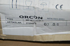 ORCON 21200065 SERVICETEIL VENTILATOR MP-8 MP-14 VCW-S SERVICE ONDERDEEL NEU