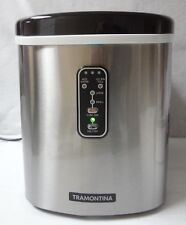 TRAMONTINA Home Appliances  Stainless Steel Compact Ice Maker, for parts  -28