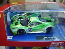 """Carrera Digital132 30847 Ferrari 488 GT3 Rinaldi Racing No.333 """"Neu""""(122)"""