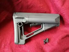 Brand New Elements STR Stock Replica For AEG GBB Airsoft Black