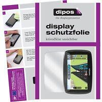 3x TomTom Start 50 Schutzfolie klar Displayschutzfolie Folie dipos Displayfolie