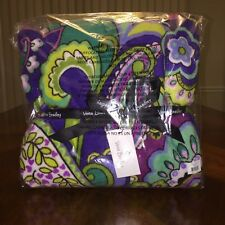 NWT Vera Bradley Throw Blanket In Heather