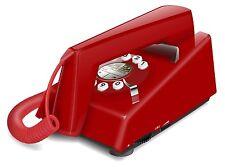 NEUF ! telephone fixe geemarc TRIMLINES rouge