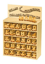 New Wooden Alphabet Name Train Letters For Christening Birthday Christmas Gifts