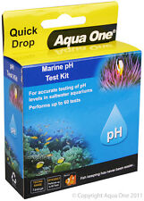 Aqua One A1-92052 Quick Drop Marine pH Test Kit Range 7.0 to 9.0 for Marine Tank
