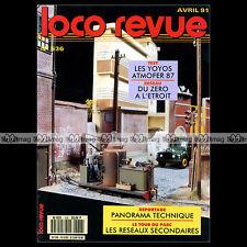 LOCO REVUE N°536 LOCOTRACTEURS Y 7100/7400 SNCF RESEAUX SECONDAIRES PONT-SECTEUR