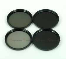 62mm Neutral Density ND Filter Kits (ND2+ND4+ND8+ND10)