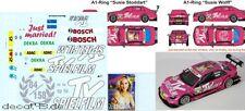1/43 Decal Mercedes Benz C-Klasse DTM 'TV Spielfilm' DTM 2011 Susie Stoddart