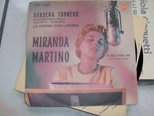 7' MIRANDA MARTINO STASERA RORNERO' RCA 0820 RARA SIGLA