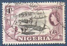 NIGERIA  SG 73  (B439) Good  Used  with 'PORT HARCOURT'  cds