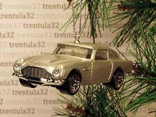 007 James Bond '63 Aston Martin 1963 Db5 Silver Christmas Tree Ornament Xmas