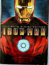 "MARVEL'S ""IRON MAN""  THE ULTIMATE 2-DISC EDITION, EXTRAS, DELETED SCENES +"