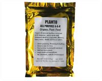 PLANTO All-Purpose Organic Fertilizer (8 oz pack makes 24 gallons fertilizer)