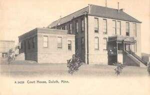 Duluth Minnesota Court House Vintage Postcard AA38185